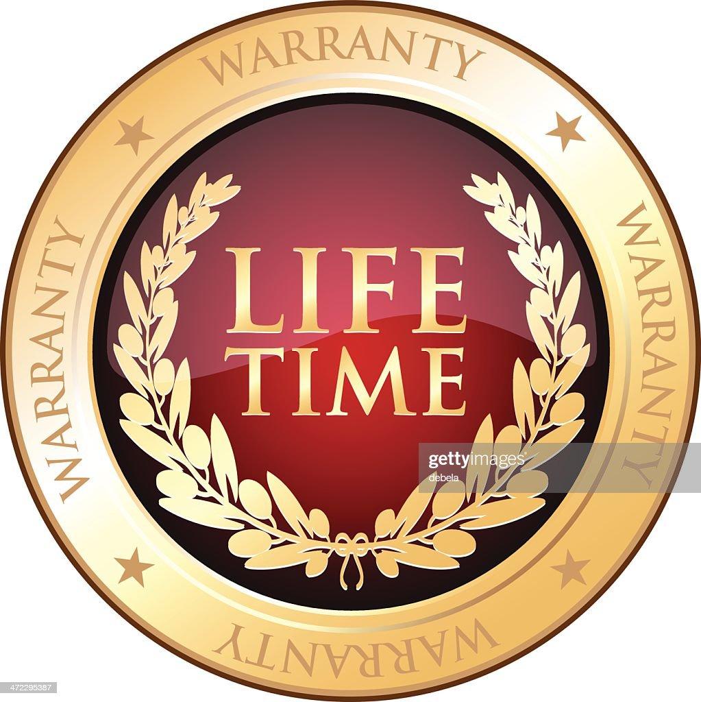 Lifetime Warranty Gold Shield