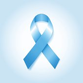 Light Blue Awareness Ribbon