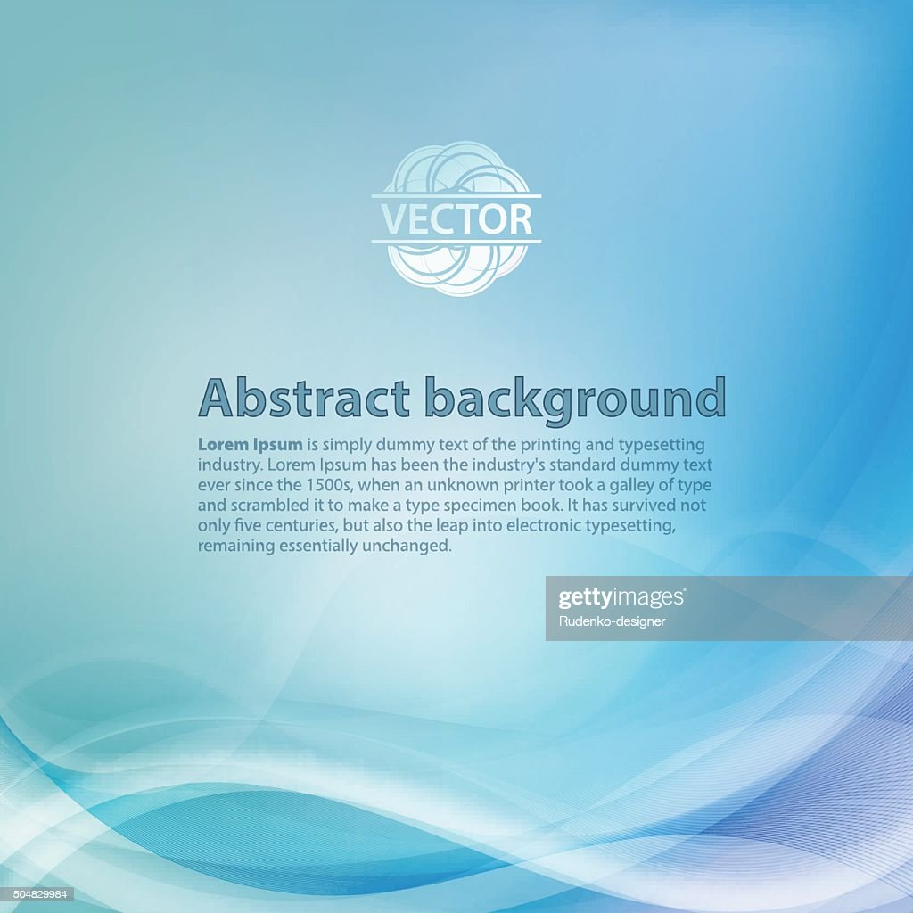 Light blue background with gradient and blend. Business style