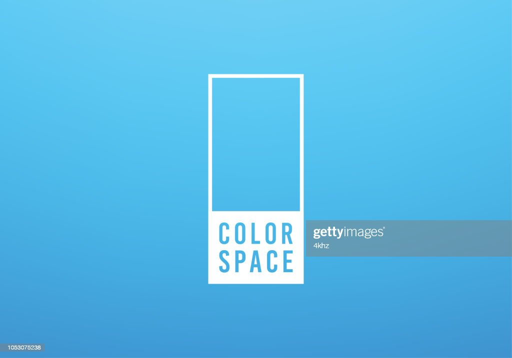 Light Blue Basic Elegant Soft Color Space Smooth Gradient Vector Background