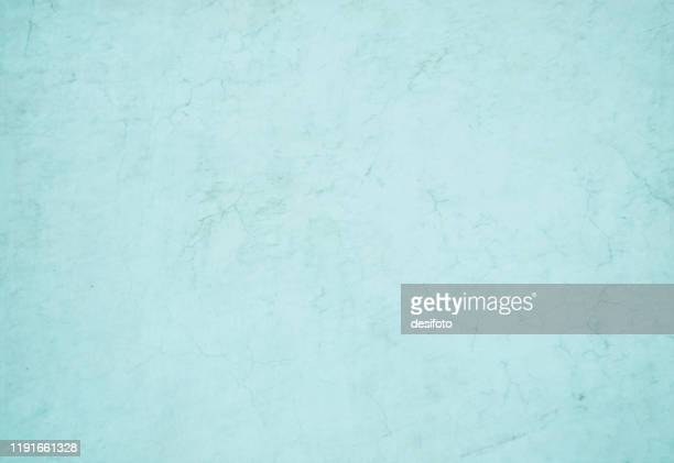 light blue color crumpled paper or old wall textured grunge vector illustration - pastel colored stock illustrations