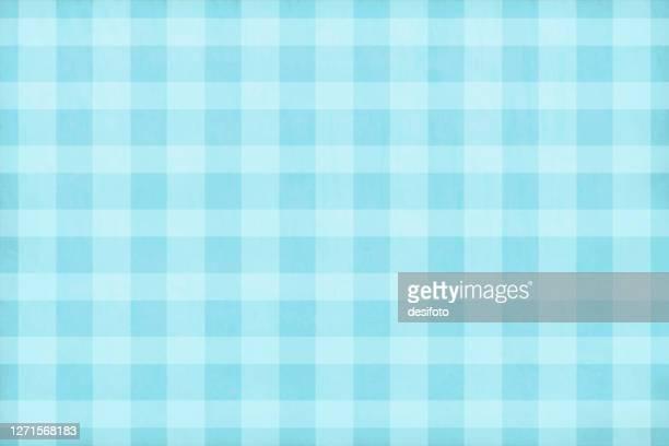 hellblau gefärbte, weich karierte vektorhintergründe - tapete stock-grafiken, -clipart, -cartoons und -symbole