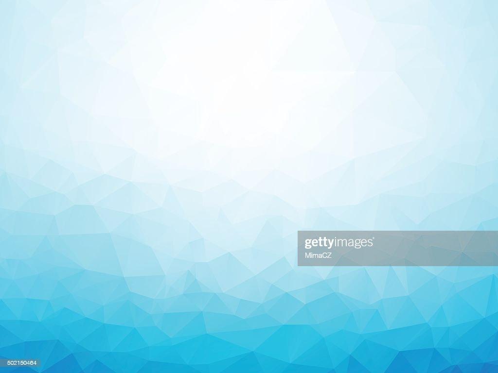 light blue winter background
