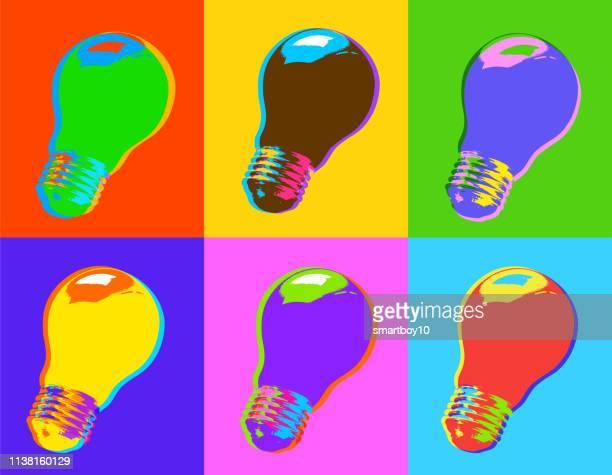 light bulb concept idea - kilowatt stock illustrations