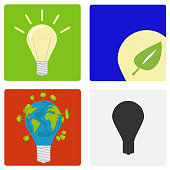 Light bulb, eco-bulb, incandescent lamp.