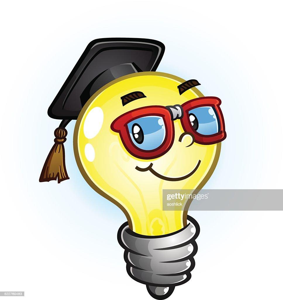Light Bulb Education Cartoon