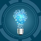 Light Bulb, Idea concept