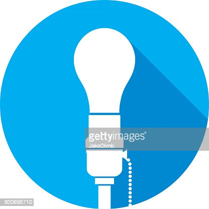 vector square blue icon lighting bulb. Keywords. Blue · Bright Circle Electric Lamp Vector Square Icon Lighting Bulb