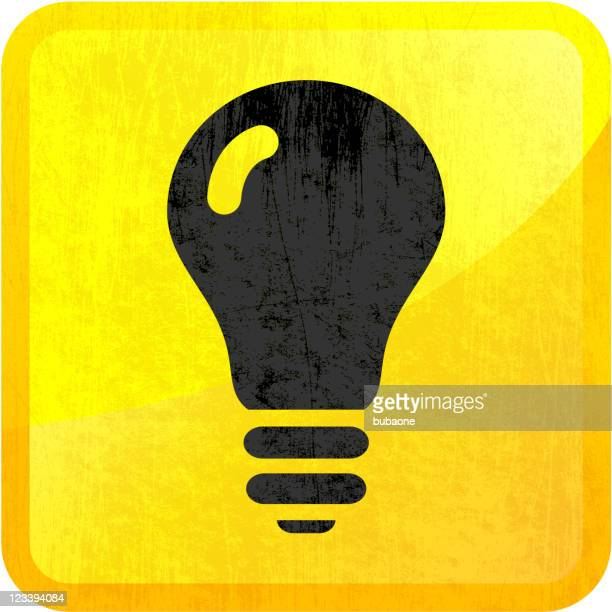 light bulb on royalty free vector background - wood stain stock illustrations, clip art, cartoons, & icons