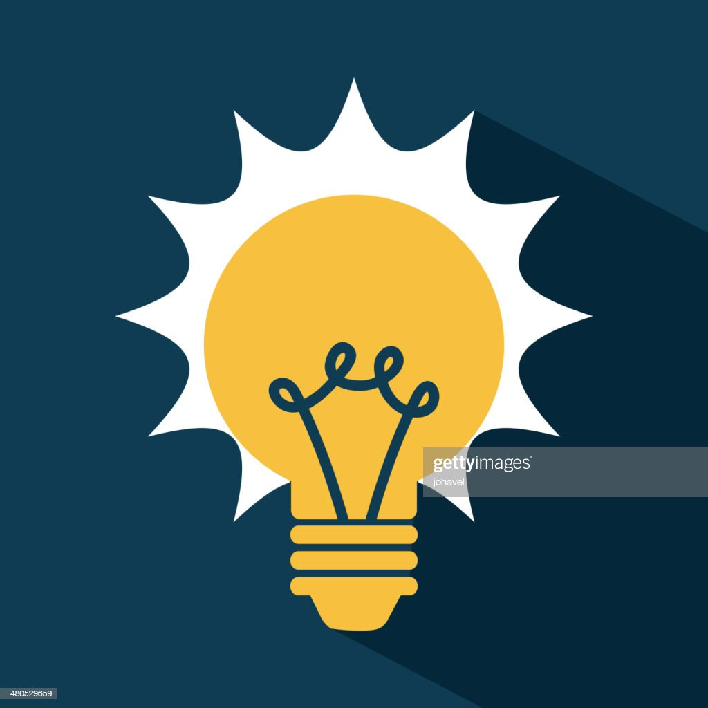 Light Bulb : Vector Art