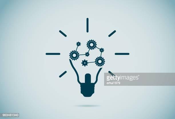 light bulb - ideas stock illustrations