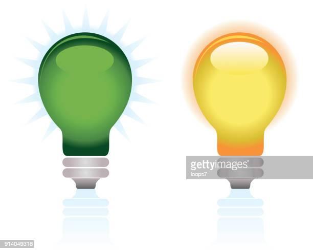 ilustrações, clipart, desenhos animados e ícones de lâmpadas - lâmpada