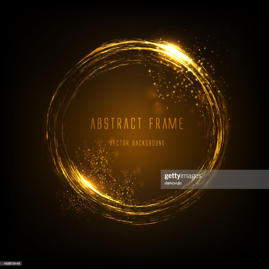 light effects frame. Vector