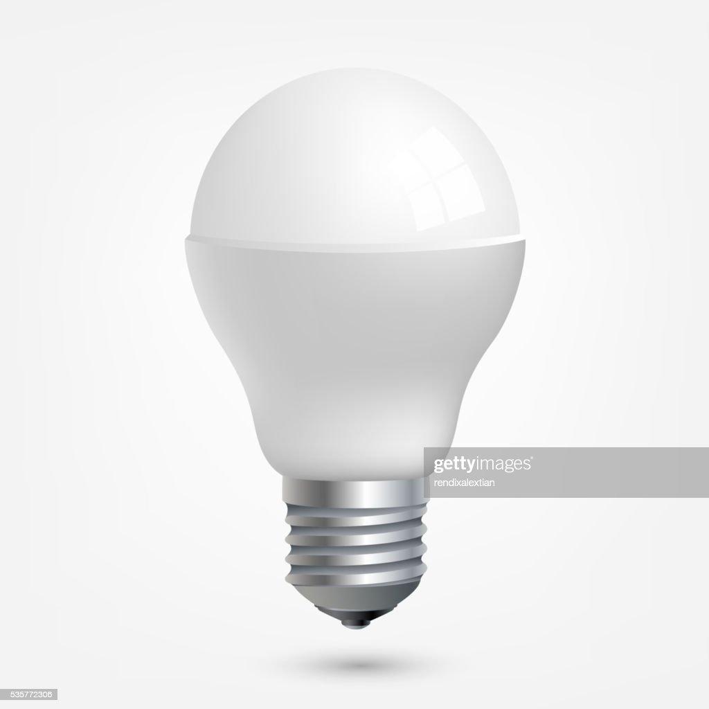 LED light emitting diode energy saving light bulb