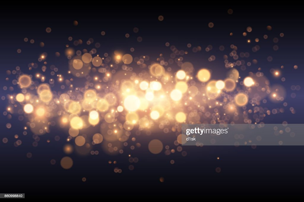 Light gold effect background