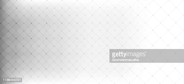 light grey abstract technology background - grid pattern stock illustrations