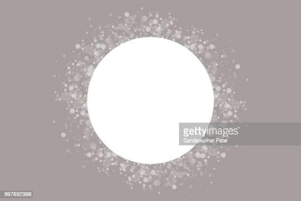 light grey bokeh background - high key stock illustrations, clip art, cartoons, & icons