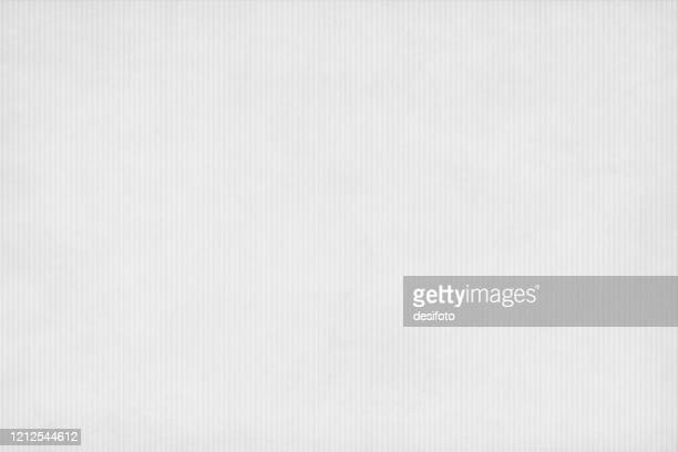 light grey coloured striped backgrounds resembling textured corrugated paper sheet. - ribbed stock illustrations