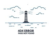 Light house 404