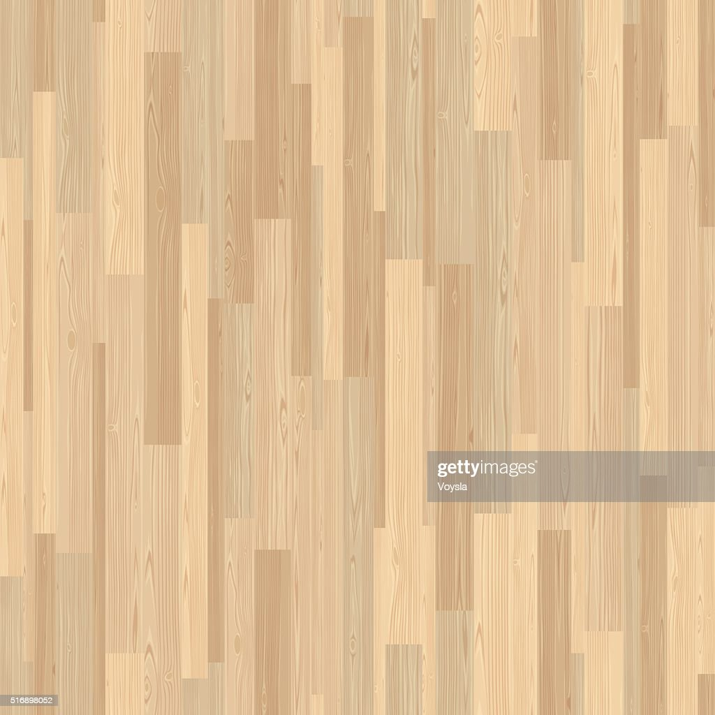 Light Parquet Seamless Wooden Stripe Mosaic Tile