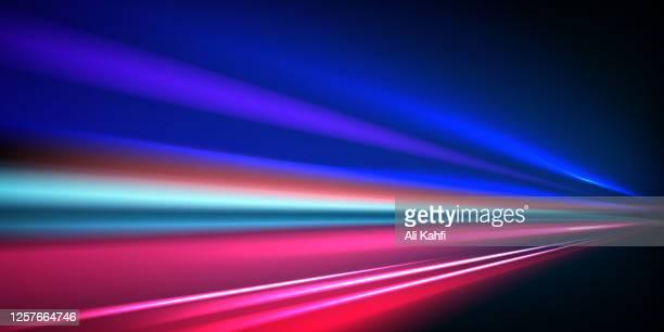 light speed motion technology background - igniting stock illustrations