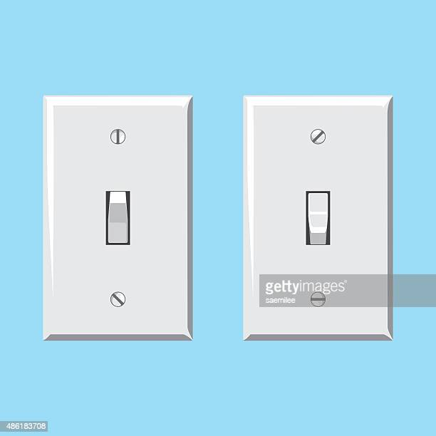 Light Switch Vector Art And Graphics