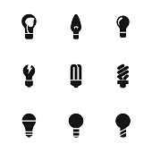 Light vector icons