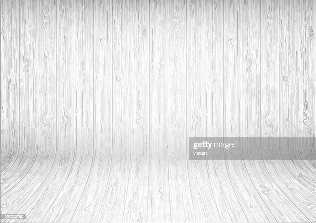 Light white curved wood plank background