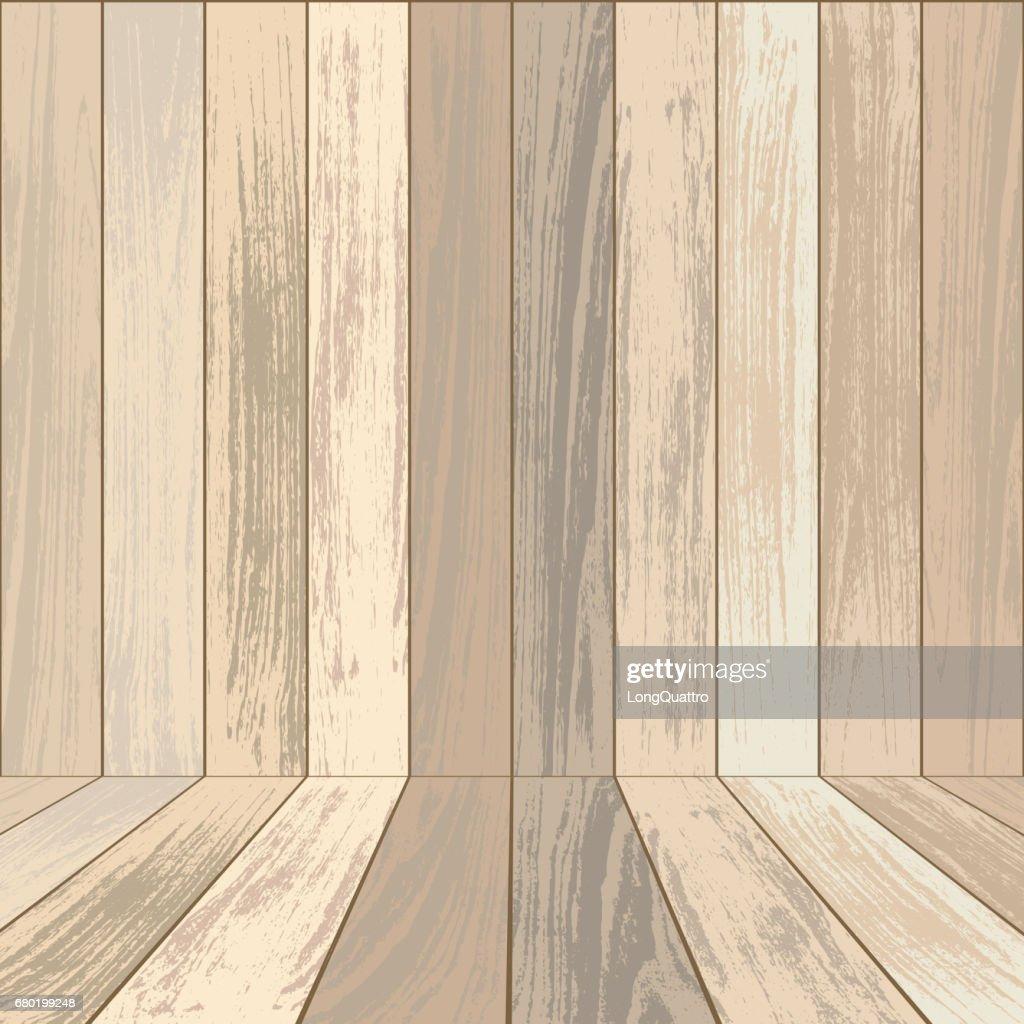 Hellen Holz Hintergrund Vektorgrafik Getty Images