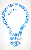 Lightbubl  Tech Support Vector Icon Pattern