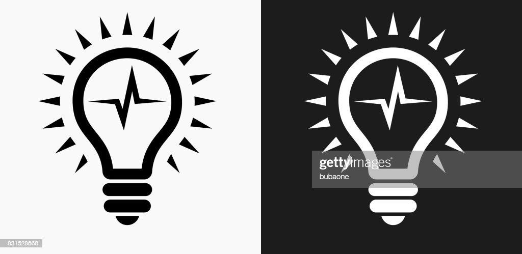 Lightbulb icon white