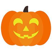 Lighted Halloween Jack O' Lantern Pumpkin