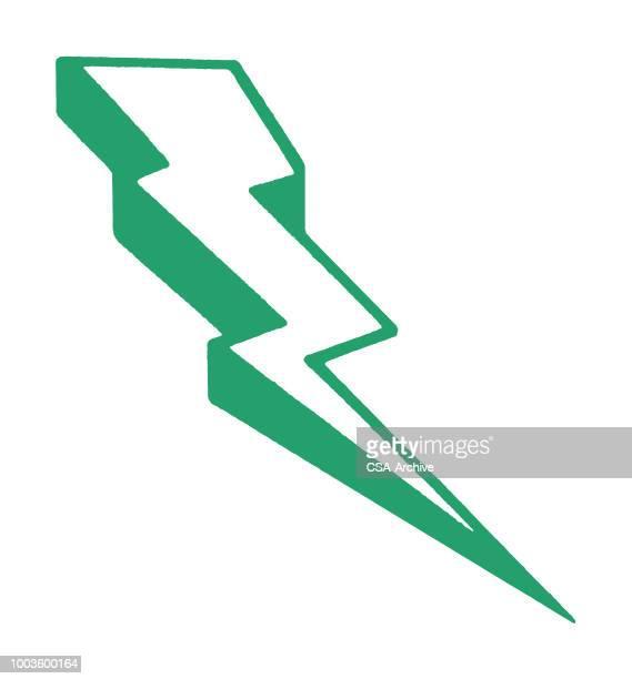 lightening bolt - lightning stock illustrations