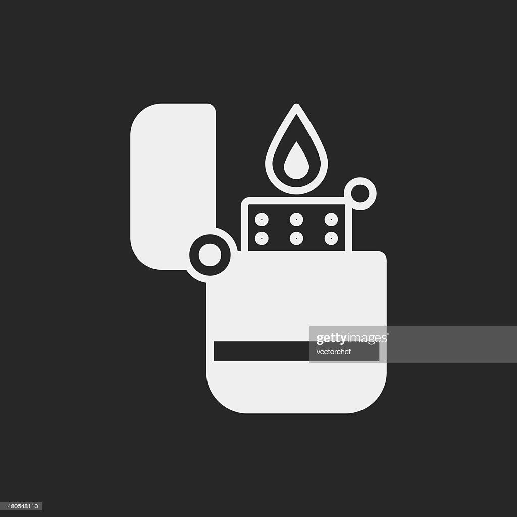 Lighter icon : Vector Art