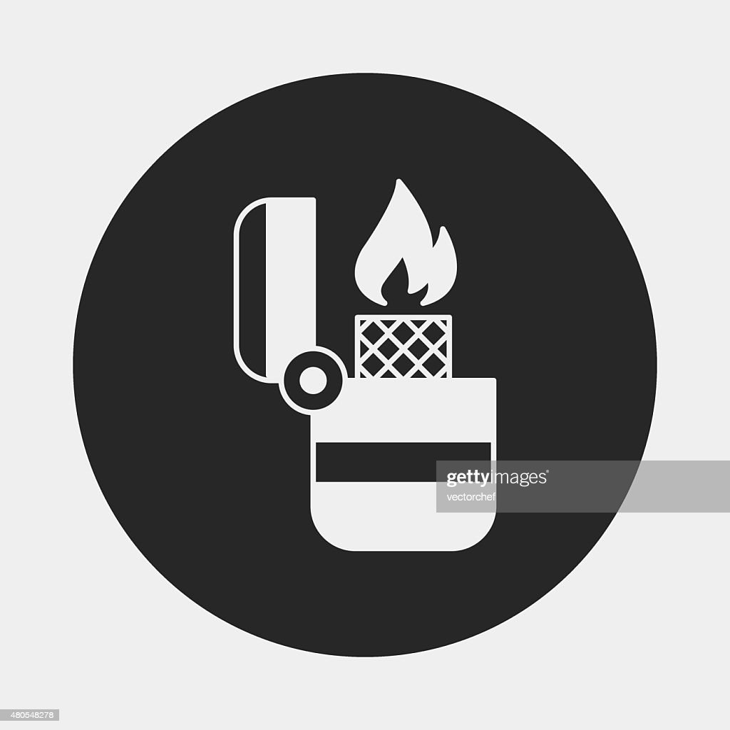 Lighter icon : Vector Art