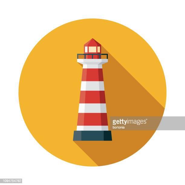 lighthouse christian icon - lighthouse stock illustrations