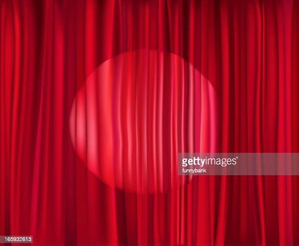 lighting curtain - press conference stock illustrations, clip art, cartoons, & icons