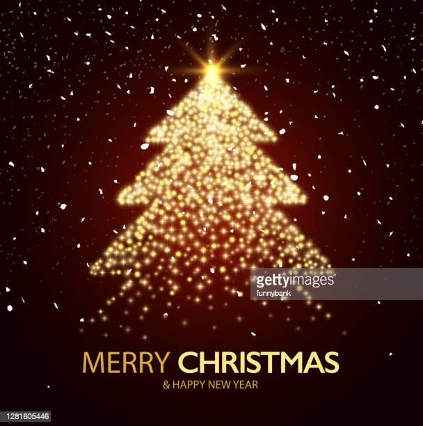 照明ツリー - クリスマスマーケット点のイラスト素材/クリップアート素材/マンガ素材/アイコン素材