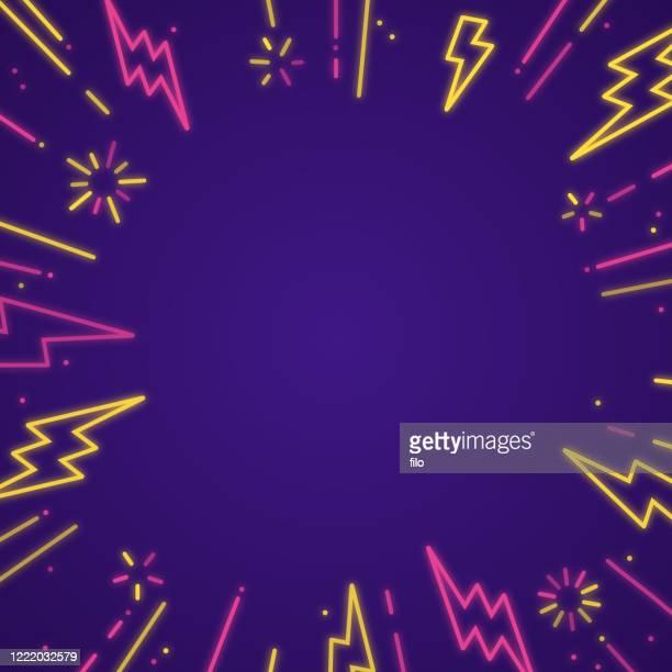 lightning blast hintergrund - ausverkauf stock-grafiken, -clipart, -cartoons und -symbole
