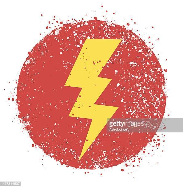 lightning bolt - lightning stock illustrations