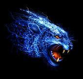 Lightning Panther Art