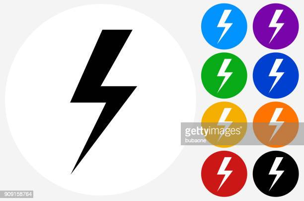 lightning thunderstorm. - lightning stock illustrations