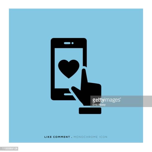 ilustrações, clipart, desenhos animados e ícones de como ícone de comentário - filtro de pós produção automática