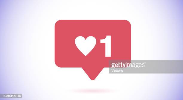 like icon - like button stock illustrations