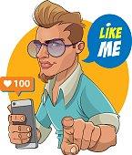 Like Me - Follow Me