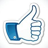 I like, thumb up
