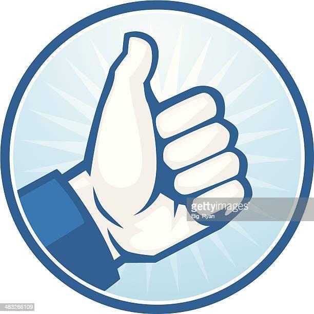 ilustrações, clipart, desenhos animados e ícones de como os polegares para cima - sinal afirmativo