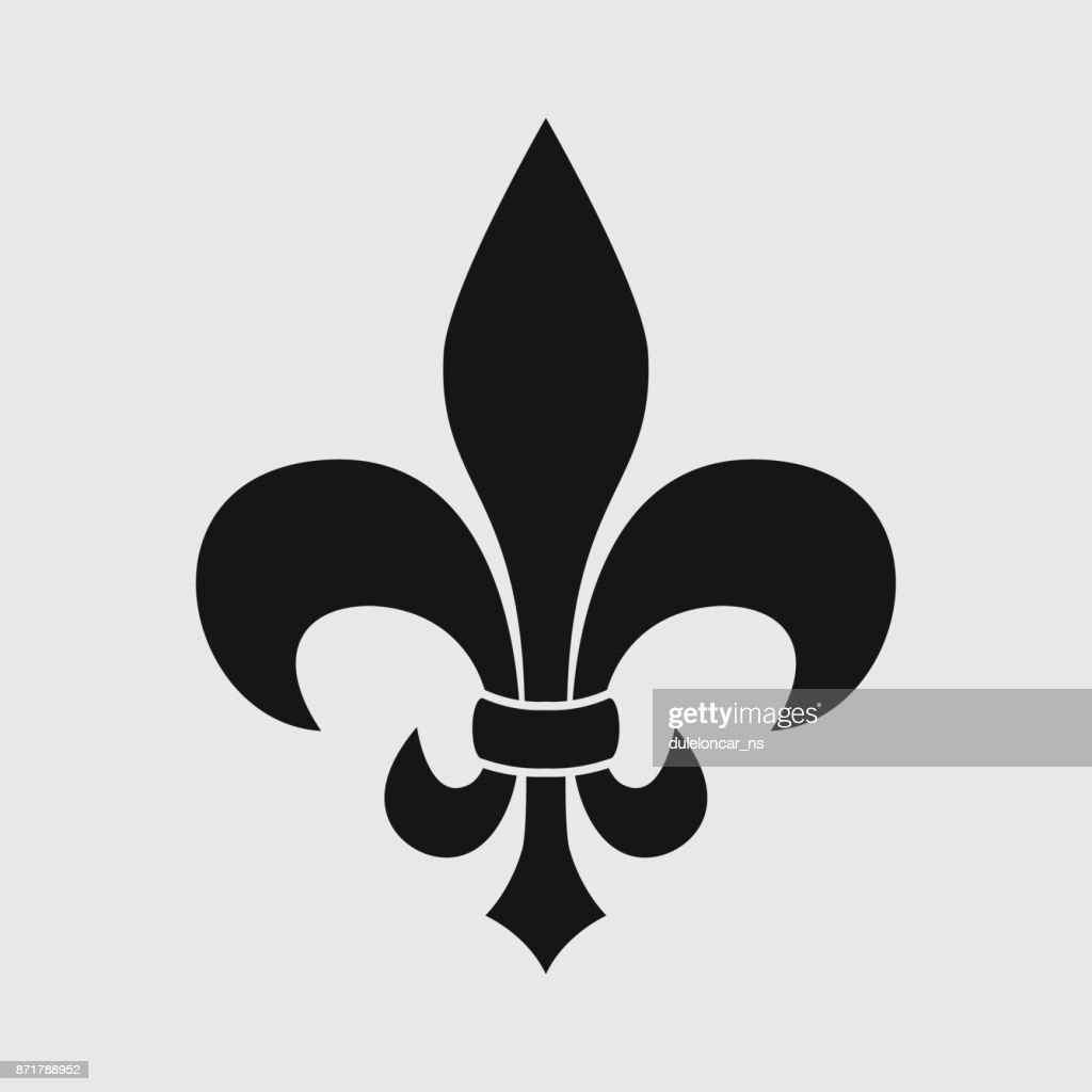 Lilly flower symbol fleur de lis icon vector art getty images lilly flower symbol fleur de lis icon vector art izmirmasajfo