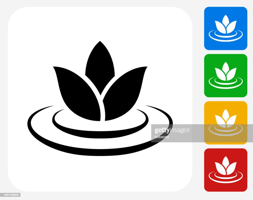 Lily flower icon flat graphic design vector art getty images lily flower icon flat graphic design vector art izmirmasajfo Choice Image