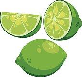 Lime Cartoon
